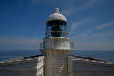 経ヶ岬 ~丹後半島の先端で白亜の経ヶ岬灯台を見てきました~