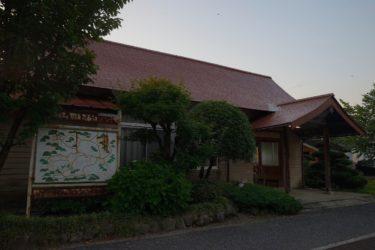比婆山駅 ~社殿風の駅舎が特徴的な木造駅~